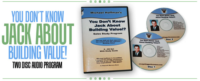 You Don't Know Jack About Building Value! audio program