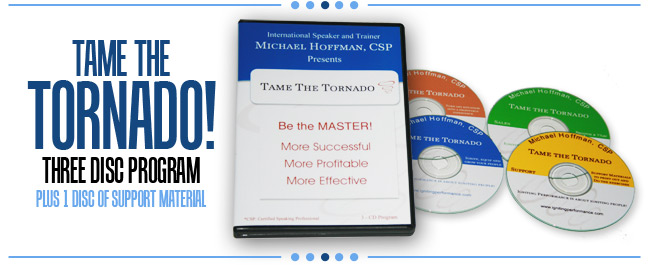 Tame the Tornado! audio program